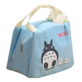 Totoro Lunch Box Storage Bag (Light Blue) Price Philippines