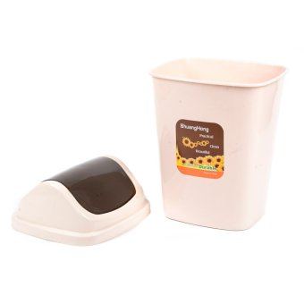 Trash Can with Cover (Large)