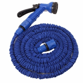 Trendsetter Newest Expandable Garden Hose up to 125ft,PremiumLightweight and Durable Expandable Hose for all watering needs-Blue
