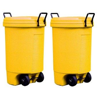 Trolley Bin (Yellow) Bundle of 2