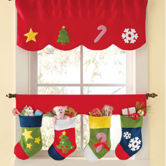 Two Sets Of Christmas Curtain Price Philippines