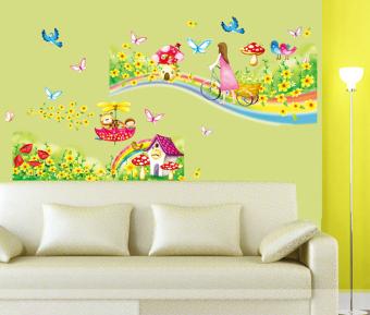 Ufengke UF-WL0463 Wall Sticker Multicolor