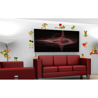 Ufengke UF-WL0468 Wall Sticker Multicolor - picture 2