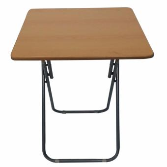 Ultralite Wooden Square 60x60cm Table Folding Legs (Beige)