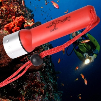 Underwater 1200LM CREE XM-L T6 LED Diving Flashlight Torch Lamp Light Waterproof - intl