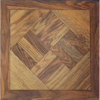 UNI Luxury Vinyl Tile Flooring 60pcs box - Wooden Slanted Square inFrame Price Philippines