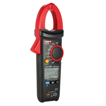 UNI-T UT213B Portable Digital LCD Clamp Meter Multimeter AC/DC Voltage AC Current Resistance Capacitance Diode Continuity NCV Temperature Measurement Tester with Flashlight - intl
