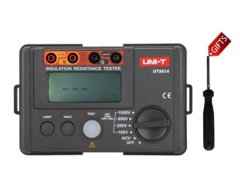 UNI-T UT501A 1000V megger Insulation earth ground resistance meter Tester Megohmmeter Voltmeter w/LCD Backlight - intl