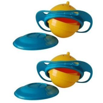 Universal Gyro Bowl Set of 2 (Yellow/Blue)