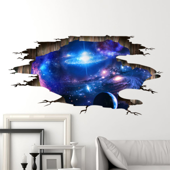 Universe Cool 3D model ceiling wall adhesive paper