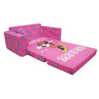 Uratex Kiddie Sit and Sleep Convertible Bed (MINNIE YOU CAN DO IT) Price Philippines