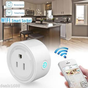 US Plug APP Remote Control Timer Timing Switch WiFi Smart PowerSocket Outlet - intl
