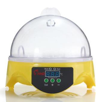 US Plug Automatic Clear Digital 7 Egg Incubator Hatchery for Chicken Duck Bird Quail Digital Temperature Small Brooder - intl - 3