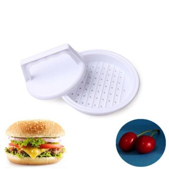 Useful DIY Hamburger Meat Beef Maker Grill Burger Patty PressKitchen Mold Mould White - intl Price Philippines