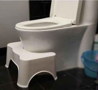 Ussable Healthy Squatty Bathroom Toilet Stool footseat - intl - 2