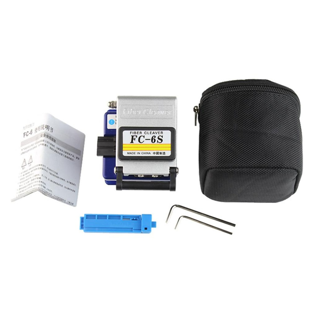 ... USTORE Fiber Optic Ftth Tool Kit With Fc-6S Fiber Cleaver And Optical Power Meter ...