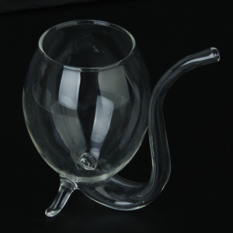 Vampire Red Wine Glass Sucking Cup Mug With Drinking Tube Straw - picture 2