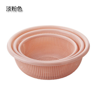 Vegetable sieve kitchen wash vegetables basin plastic basket wash dish basket
