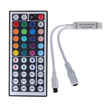 Velishy Mini Remote Controller for LED Strip Light 44Key