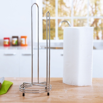 Vertical paper towel holder bathroom paper holder towel rack