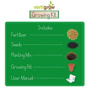 Vertigrow Natural Chives Growing Kit Urban Farming Vegetable Vertical Gardening Indoor and Outdoor - 4