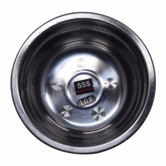 Verygood 555 Makapal 10pcs Serving Bowl Stainless Steel for Kitchen16cm - 2