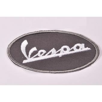 Vespa Racing Team Cloth Patch & Vespa Script Embroidered PatchSet (Get 2) - 3