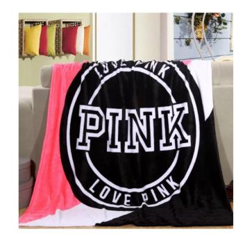 Victoria's Secret LOVE PINK Soft Plush Fleece Throw Blanket 400g