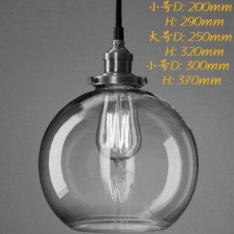 Vintage Chandelier DIY Led Glass pendant Light Pendant Edison LampFixture Edison light bulb chandelier Archaize cafe restaurant bar Bstyle S - 2