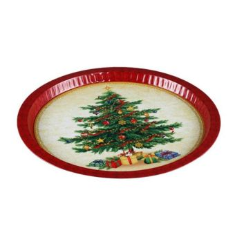 Vintage Christmas Tree Tinplate - Intl - picture 2