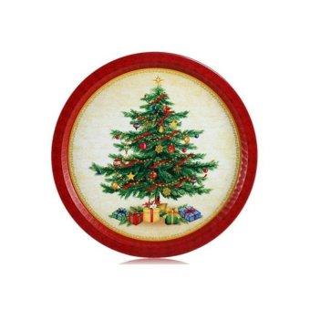 Vintage Christmas Tree Tinplate - Intl