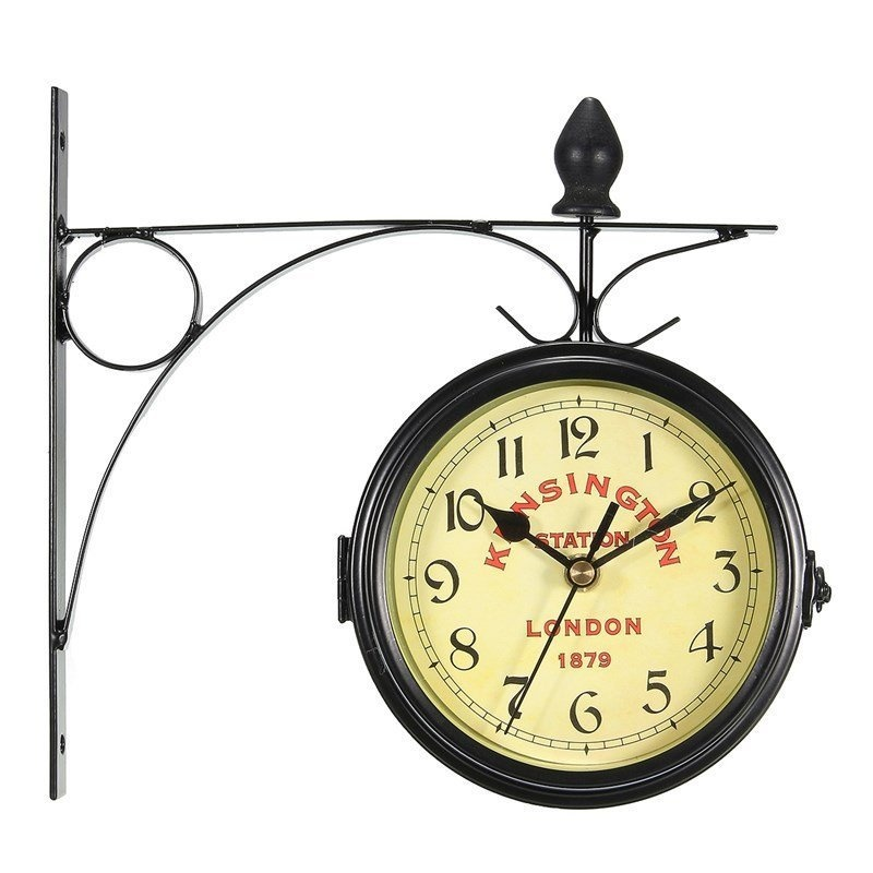 Philippines | Vintage Decorative Double Sided Metal Wall Clock ...