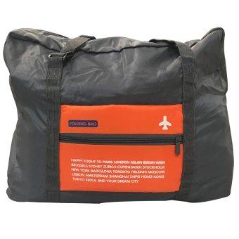 Vistro 1007 Waterproof Mulfunctioning Folding Travel Bag (Orange)