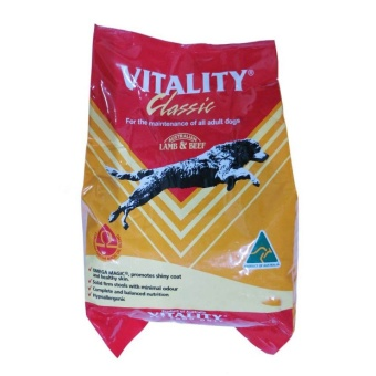 Vitality Classic Lamb and Beef Dog Food 1kg