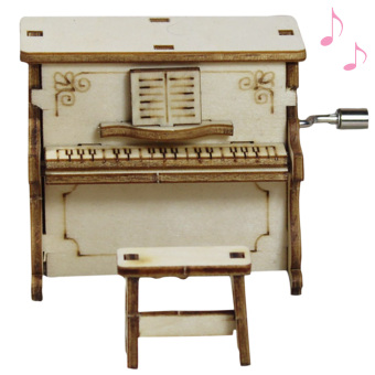 Vococal DIY Wooden Music Box