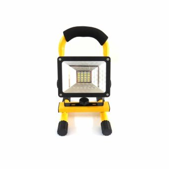 W804 Cordless 30W LED Flood Spot Light Outdoor Camping Lamp Square