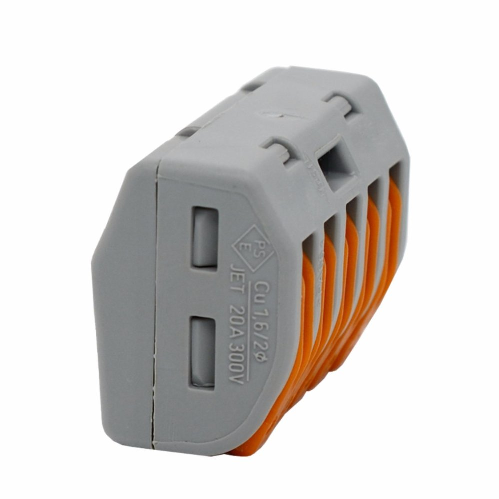 Philippines Wago 222 415 Lever Nuts 5 Conductor Compact Connectors Connector 2 Wire 412 Terminal Block Cage Clamp 10 Pk Intl