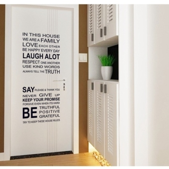 Wall Decals Words and Quotes PVC Wall Stickers