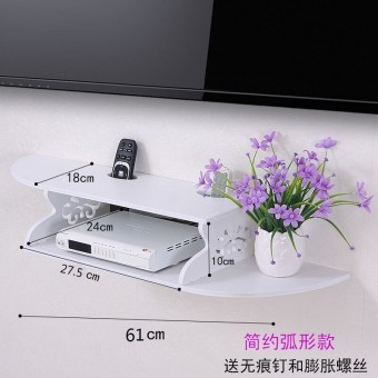 Wall hangers decorative TV wall partition shelf