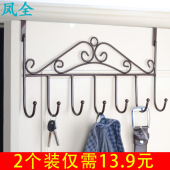 Wall hangers nailless clothes rack adhesive hook