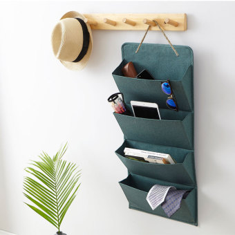 Wall Hanging storage bag cloth pouch