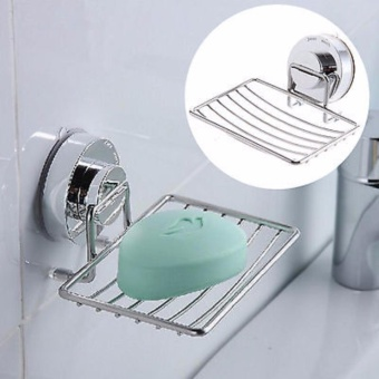 Wall Strong Suction Bathroom Rack Soap Holder - intl