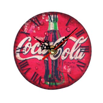 Wallmark Coca-cola Table Clock