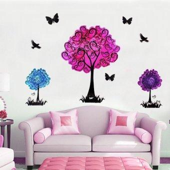 "Wallmark ""Colorful Tree"" 3D Wall Sticker"