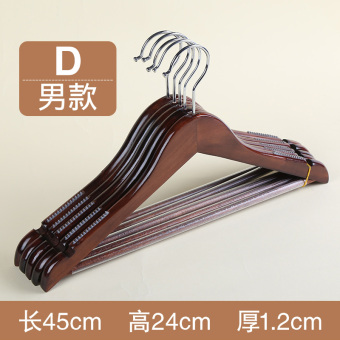 Wardrobe wooden clothes hanger wood hanger