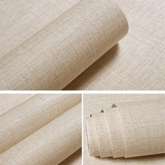Warm 3D PVC Solid dormitory Waterproof Wall adhesive paper bedroom wallpaper