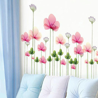 Warm bedroom living room sofa wall background sticker wall adhesive paper