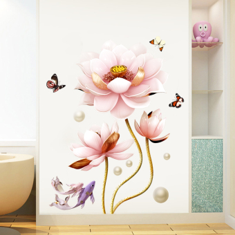 Warm room decor self-adhesive bedroom adhesive paper wall painting