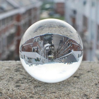 Warm your home 30mm-60mm Round Glass Artificial Crystal Healing Ball Sphere home Decoration HOT - intl - 4