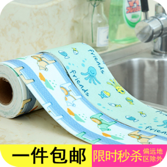 Waterproof stickers kitchen moisture waterproof stickers wash basin sink
